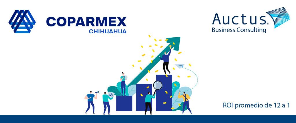 Firman convenio Coparmex Chihuahua y Auctus